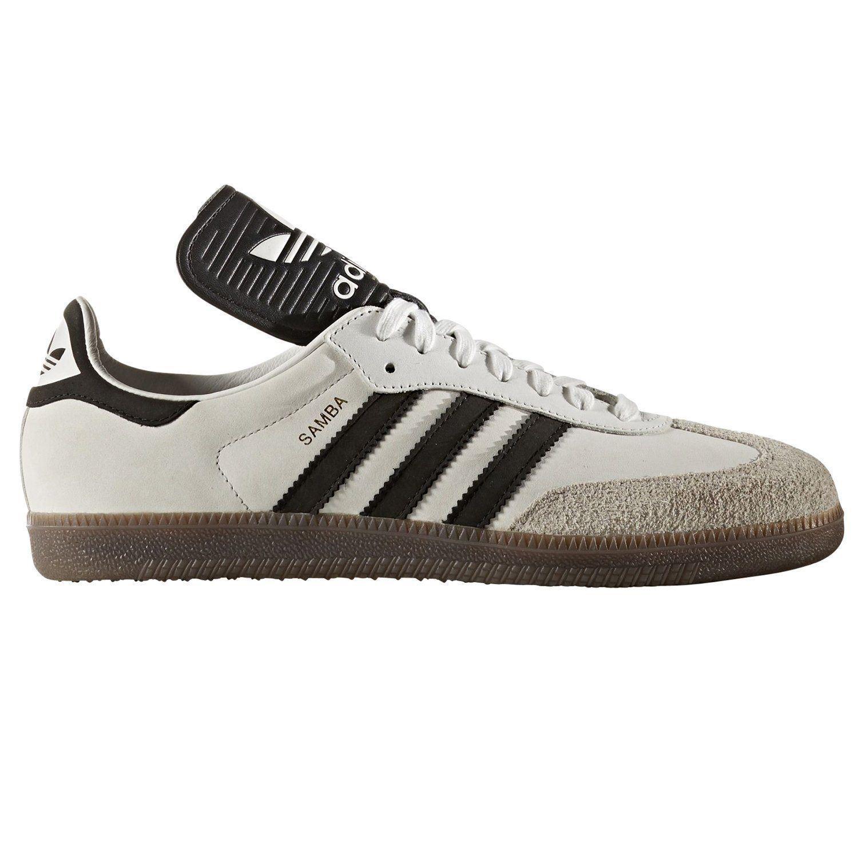 """official photos bc1b8 49825 Adidas ORIGINALS SAMBA OG Hombre Blanco Vintage Hecho en en en Alemania  Retro de Moda Nuevo. """""""