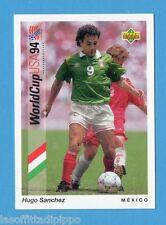 Figurina/CARDS-UPPER DECK 93 -WC USA 94- n.64- SANCHEZ - MESSICO