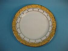 Meissen X Form Moccateller Mokka Kuchenteller Gold Top Zustand Goldbronze 14 cm