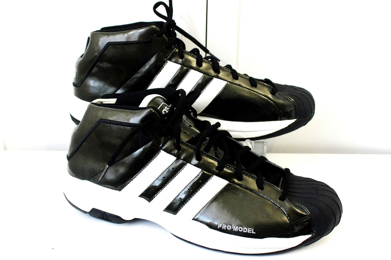 Adidas Mens tamaño 19 Zapatos Zapatillas De Tenis Pro Modelo MultiColor