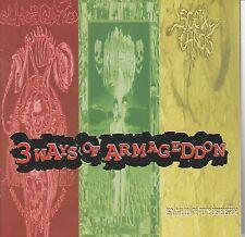 cd 3 WAYS OF ARMAGEDDON  ( IRRITATE - SOCIAL CHAOS - OLHO DE GATO )