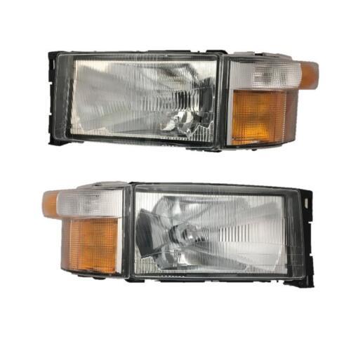 Scania 4 Series L/H & R/H Headlight / Headlamp & Indicator Set