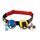 Funny Pokemon pop-up Carry Kid Adjustable Belt|+Poke Ball+Figures Play Game Gift