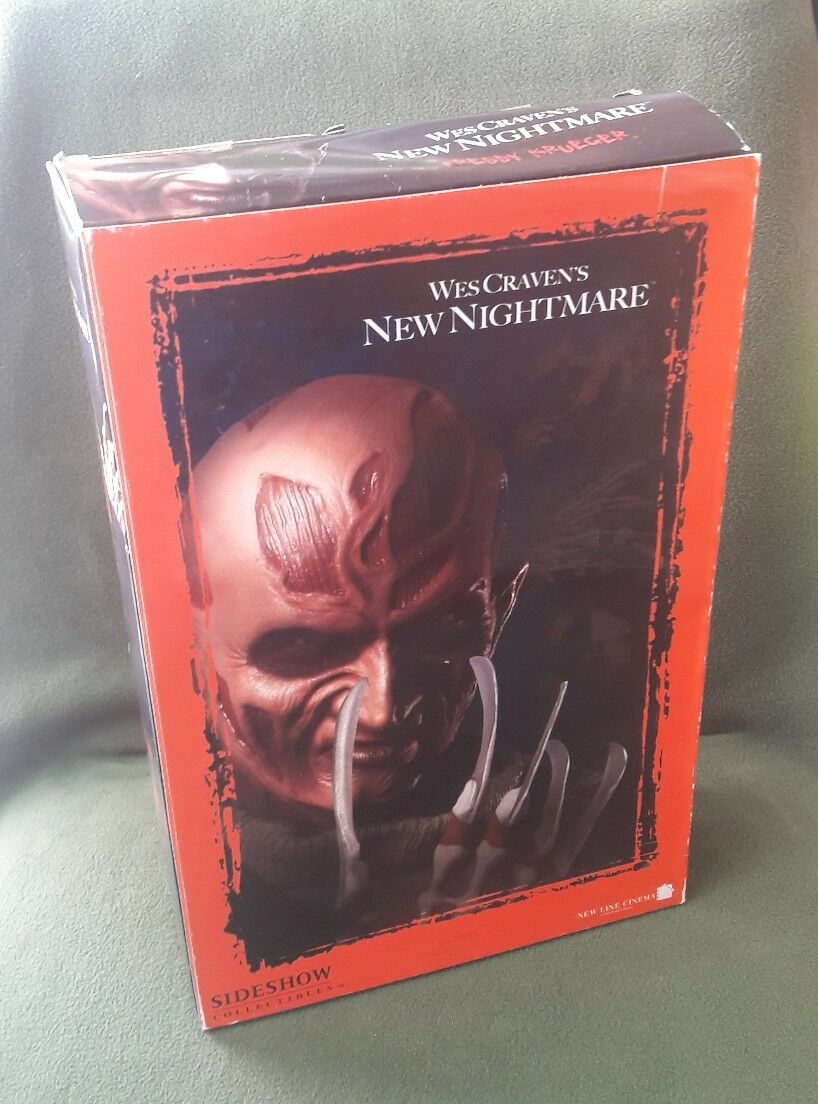 ACTION FIGURE NEW NIGHTMARE WES CRAVEN'S FrossoDY KRUEGER 12'' SIDESHOW SEALED