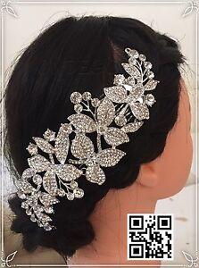 100% De Qualité Nouveau Bijoux De Cheveux Magiques Coiffe Mariée Coiffure Strass Peigne Mariée Mariage-afficher Le Titre D'origine
