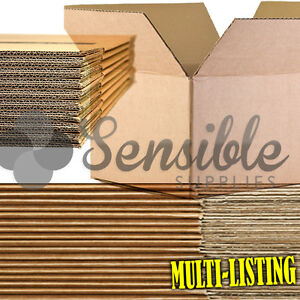 QUALITY-SINGLE-amp-DOUBLE-WALL-CARDBOARD-BOXES-POSTAL-MAILING-PACK-FAST-amp-FREE-P-P