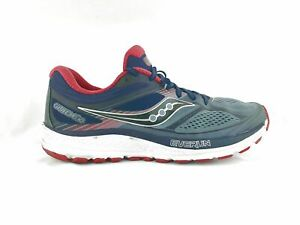 Details zu Saucony Guide 10 Mens Size 9.5 43 BlueRed Running Shoes
