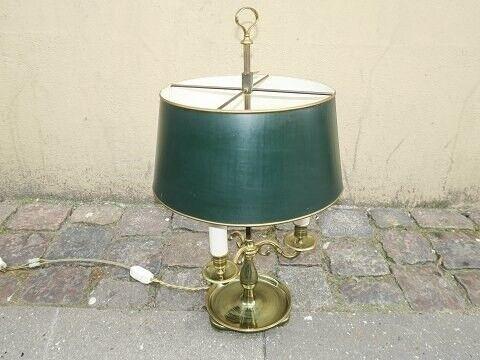 Anden arkitekt, Fransk Bouillotte bordlampe med