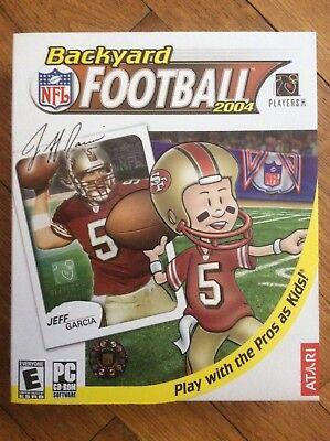 NEW , ATARI, NFL BACKYARD FOOTBALL 2004, PC CD- ROM GAME ...