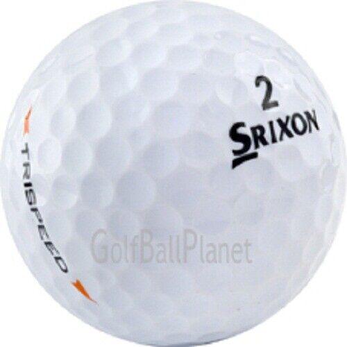 50 Srixon Trispeed / Trispeed Tour Near Mint Used Golf Balls AAAA 4A
