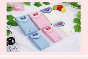 1pc Sailor Moon Phone Bag Knot PU Leather Case Cute Cosplay Chain 6 6 plus New