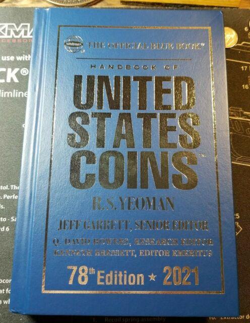 blue book coin values