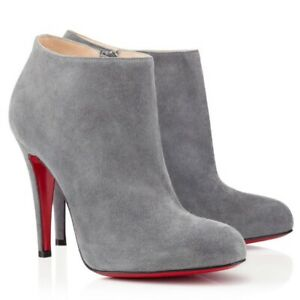 Christian Louboutin BELLE Grey Suede