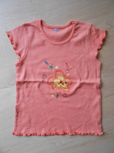 joli t-shirt E16 top pour fille Orange avec Glitzersteinen taille 98 104 110 116