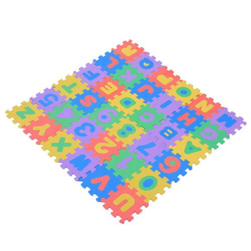 36pcs//Set EVA Foam Pad Exercise Foam Floor Mats Kid/'s Baby Puzzle Play Mats