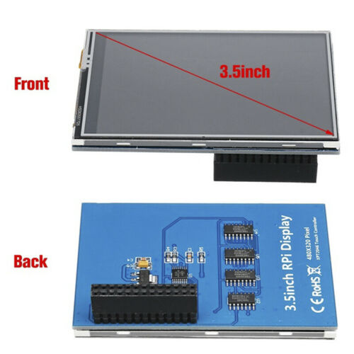 """3.5/"""" 320*480 TFT Touch Screen LCD Display Case For Raspberry Pi A B A 2B 3BYNFK"""