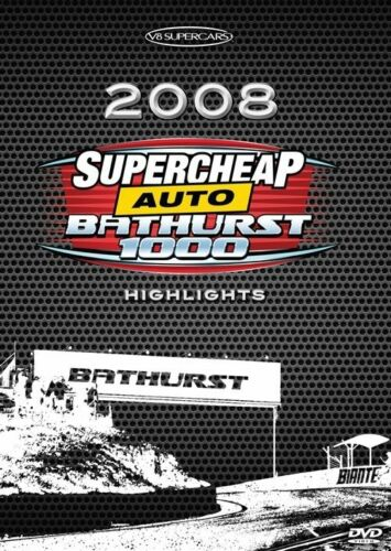 1 of 1 - V8 Supercars - 2008 Bathurst 1000 Highlights (DVD, 2014)-FREE POSTAGE