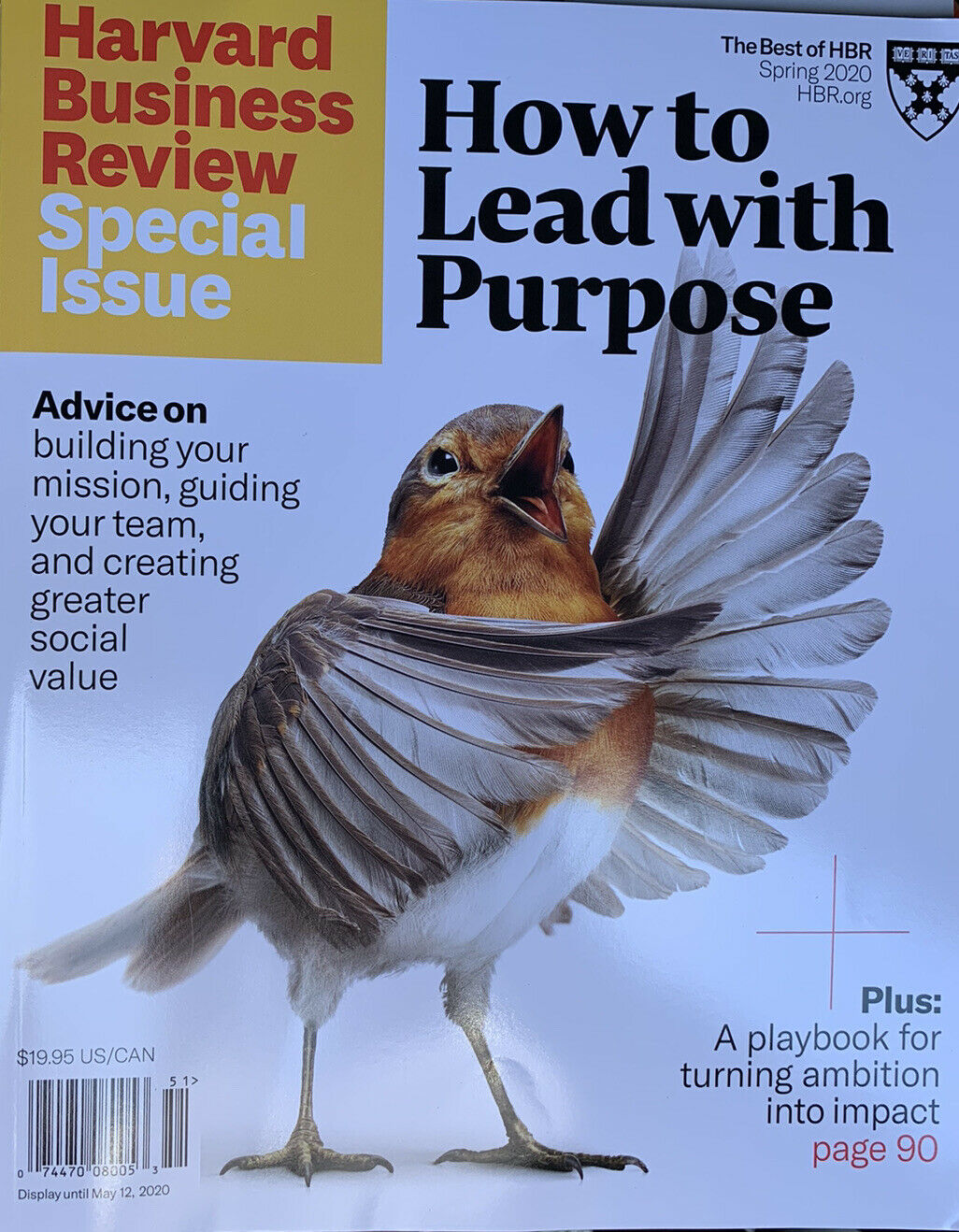 Harvard Business Review Special Spring 2020 How to Lead with Purpose 132 Pages 2