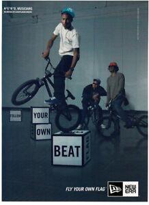 2011 NEW ERA Caps N.E.R.D. bicycles vintage print ad