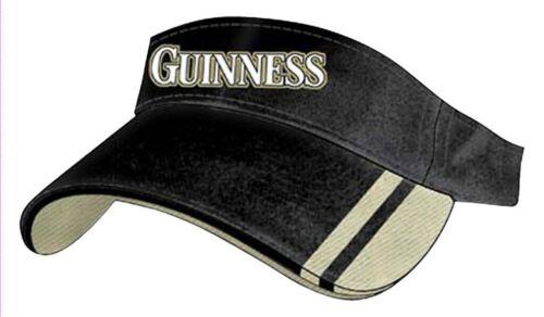 3D Black Visor Cap Headwear // Caps Adjust Guinness 0838880001707 - Guinness