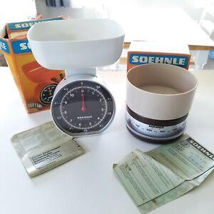 Vintage German kitchen scales Soehnle