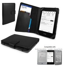 Smart Leather Case Cover for Amazon Kindle Paperwhite/Kindle 5/Kindle Touch BLK