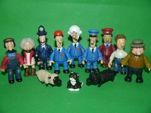 Postman Pat Figures SDS PAT/_ALF/_TED GLEN/_AJ/_GOGGINS/_BEN/_JESS/_PC SELBY/_SHEEPS