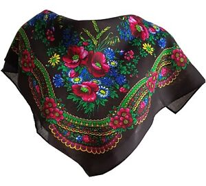 Stylish-small-Slavonic-Russian-scarf-shawl-folk-style-new-Autumn-Collection