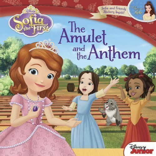 1 of 1 - Disney Carry-Along Story Books Sofia the First: the Amulet and the Anthem by...