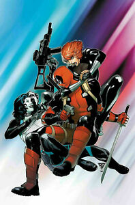 Domino-Hotshots-2-MARVEL-Comics-2019-1st-Print-Main-Cover-unread-NM