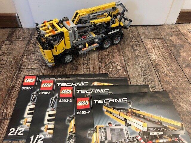 LEGO Technic Technik 8292 - LKW mit Hebebühne inkl. BA