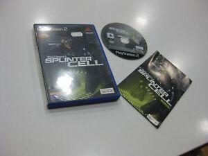 Splinter Cell TOM CLANCY'S PS2 Ausgabe Spanisch