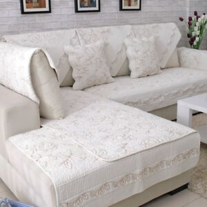 1PC Sofa Mat Rose Slipcover Pad Couch Seat Cover Warm Protector European Style