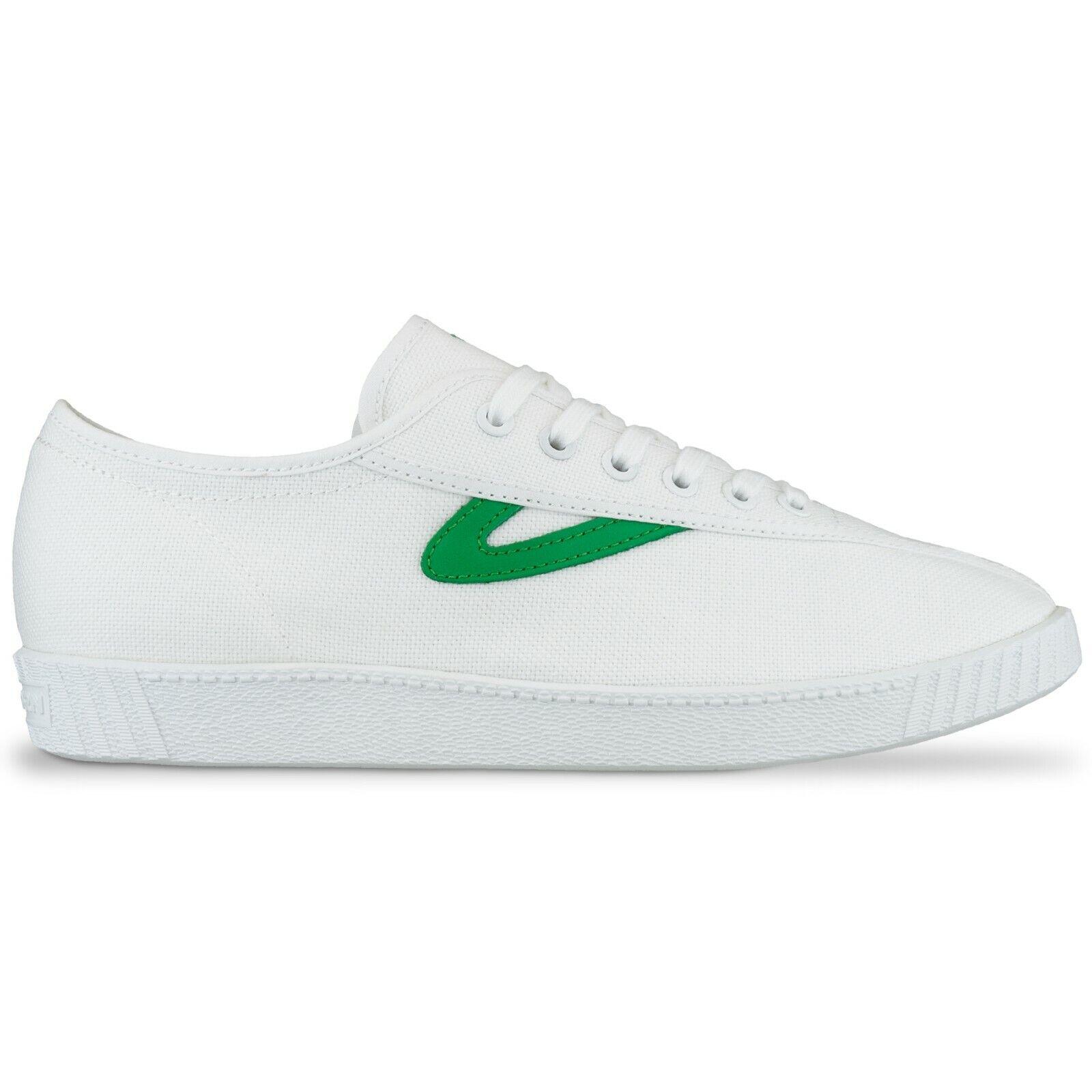 Tretorn Trainers - Tretorn Nylite Canvas Trainers - - - nero, bianca, verde - BNIB c8d7a9