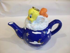 Vintage-Warner-Bros-Store-Exclusive-Large-Tweety-Tweety-Pie-Teapot