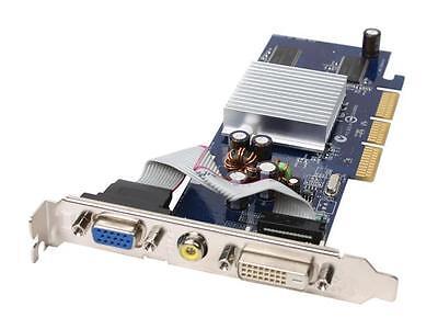 Scheda Grafica Geforce_128 Mb_interfaccia< Agp >gf Fx5200/v9520 Ddr Dvi Tvo Vga Colori Armoniosi