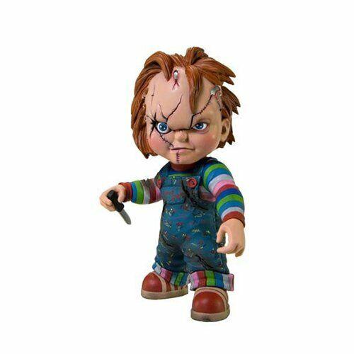 Mezco Juguetez  Chucky  Estilizado rojoo Vinilo Figura 7  De Alto