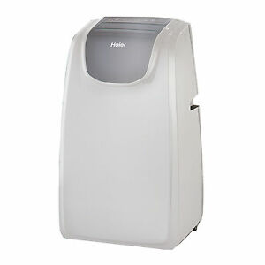 Haier Portable 10 000 BTU AC Air Conditioner Unit with Remote White HPE10XCT