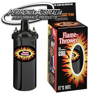 Pertronix-Flame-Thrower-Coil-3-0-ohm-4-amp-6-Cyl-Black-40-000V-5905