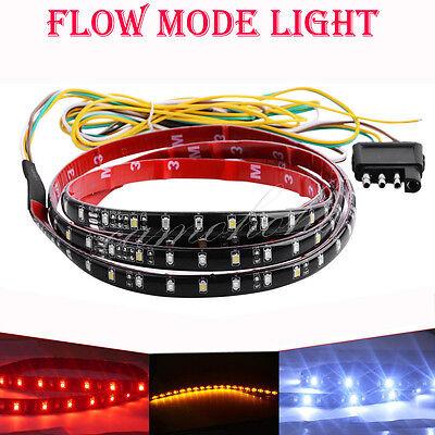"""40""""Flexible 5 Function Tailgate Bar LED Strip Truck Brake Reverse Signal Light"""
