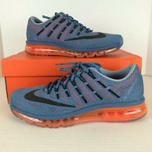 cheap for discount 6b7e9 3361e Image is loading Nike-Mens-Air-Max-2016-Running-Shoes-Grey-
