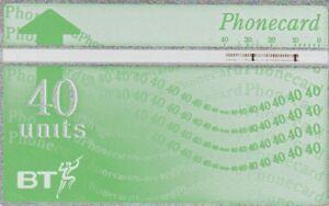 UK-BT-40units-Phonecard-Phone-Card-Used
