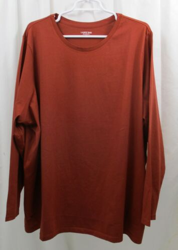 Women/'s Lands End L//S Crew Neck T Shirt 2X Relaxed Fit
