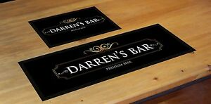 PERSONALISED-PREMIUM-BEER-MAT-LABEL-BAR-RUNNER-IDEAL-HOME-PUB-CAFE-OCCASION