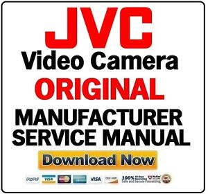 Jvc video camera camcorder service manual choose your model ebay image is loading jvc video camera camcorder service manual choose your fandeluxe