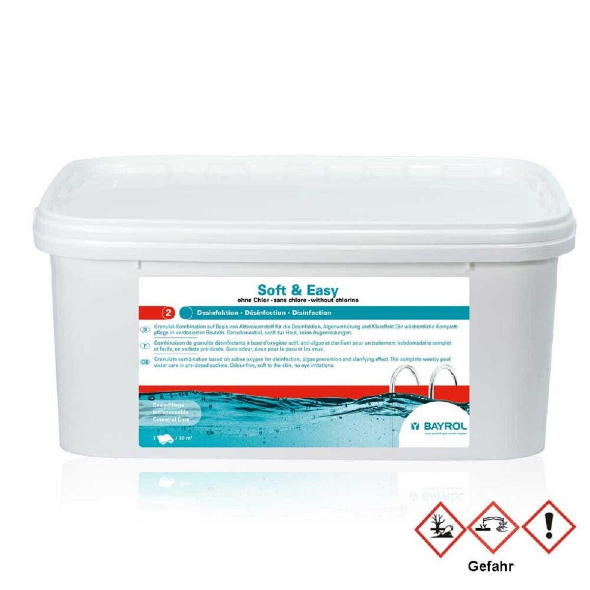 Aktivsauerstoff, Granulat, Soft & Easy, ohne Chlor Wasserpflege Pool chlorfrei