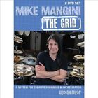 Grid: A System for Creative Drumming & Improvisation [DVD] by Mike Mangini (Drums) (DVD, Nov-2013, 2 Discs, Hudson Music)