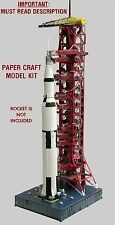Launch Umbilical Tower LUT Model Craft Kit for Monogram/Airfix &any 144 Saturn V