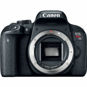 Canon-EOS-Rebel-T7i-Digital-SLR-Camera-Black-Body-Only-NEW