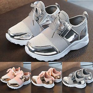 Kids Boys Girls Mesh Trainers Sneaker